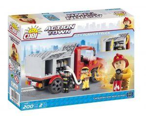 Конструктор Пожарная насосная машина COBI Action Town, 200 деталей