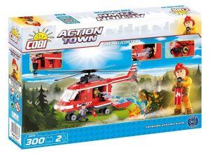 Конструктор Пожарный вертолет COBI Action Town, 300 деталей