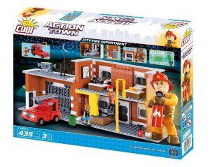Конструктор Большая пожарная станция COBI Action Town, 425 деталей