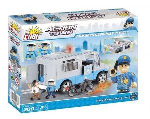 Конструктор Бронированная полицейская машина COBI Action Town, 200 деталей