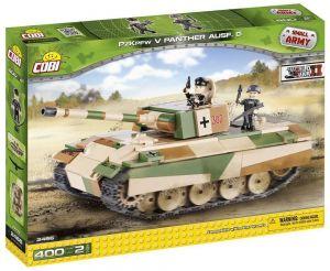 "Конструктор Танк ""Пантера"" V COBI Small Army WWII, 400 деталей"