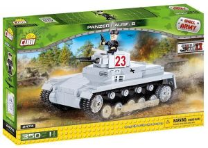 Конструктор Танк Panzerkampfwagen I COBI Small Army WWII, 350 деталей