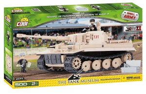 Конструктор Танк Тигр VI, COBI Small Army WWII, 500 деталей