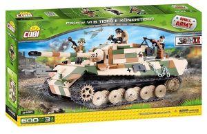 "Конструктор Танк ""Тигр II"" VI COBI Small Army WWII, 600 деталей"