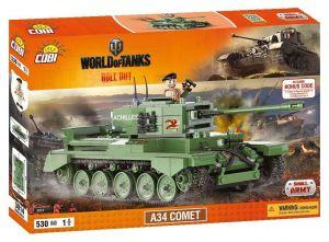 Конструктор COBI Word Of Tanks A34 Комета, 530 деталей