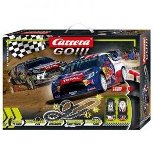 Carrera GO!!! автотрек Супер Ралли, длина трассы 4.9 м