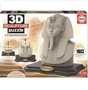 EDUCA Пазл 3D Скульптура Тутанхамон 160 элементов