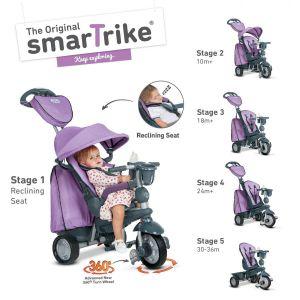 Велосипед детский Smart Trike Explorer 5 в 1 лиловий