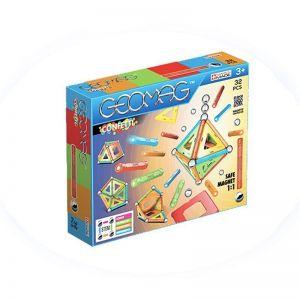 Магнитный конструктор Geomag Confetti 32 детали