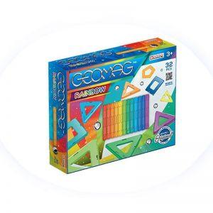 Geomag Rainbow магнитный конструктор 32 детали