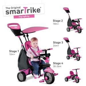 Велосипед детский Smart Trike Glow 4 в 1 рожевий