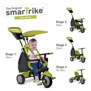Велосипед детский Smart Trike Glow 4 в 1 зеленый