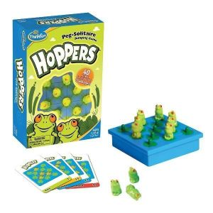 Игра головоломка Лягушки-непоседы ThinkFun Hoppers