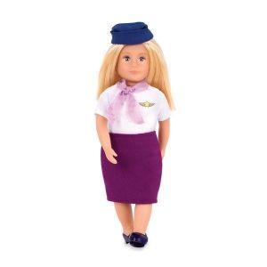 Кукла LORI Стюардесса Ауре, 15 см LO31112Z