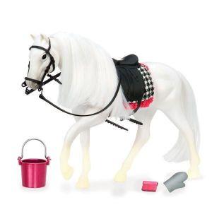 Игровая фигурка LORI Белая лошадь с Камарилло LO38000Z