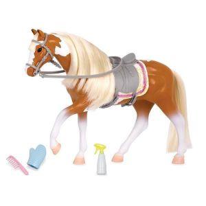 LORI Игровая фигура Лошадь Американской окраски LO38015Z