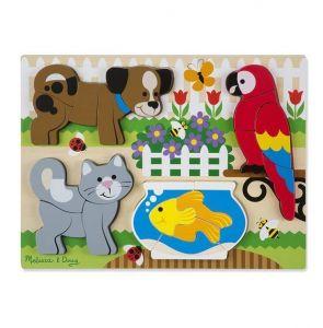 Формовой пазл - Домашние животные, Melissa & Doug MD11890