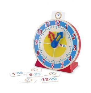 Деревянные умные часы для детей Melissa & Doug