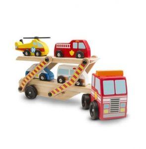Деревянный аварийный перевозчик-трейлер Melissa & Doug MD14610