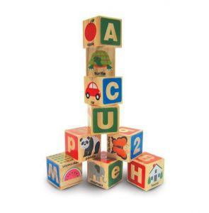 Деревянные блоки - Цифры и буквы, Melissa&Doug MD2253