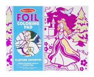 Раскраска-фольга Любимые вещи Melissa & Doug MD30303