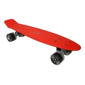 Скейт AWAII SK8 Vintage 22.5 красный, до 100 кг