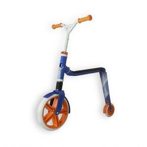 Самокат - беговел Scoot and Ride серии Highwaygangster бело-сине-оранжевый, от 5 лет, макс 100кг