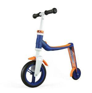 Самокат трансформер Scoot and Ride Highwaybaby сине-оранжевый, до 3 лет/20кг