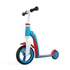 Самокат трансформер Scoot and Ride Highwaybaby сине-красный, до 3 лет/20кг
