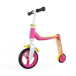 Самокат-трансформер Scoot and Ride серии Highwaybaby розово-желтый, до 3 лет/20кг