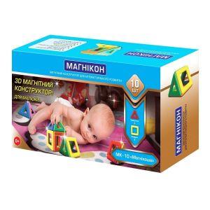 Магнитный конструктор для малышей Магникон Магникоша MK-10