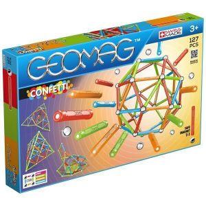 Geomag Confetti магнитный конструктор 127 деталей