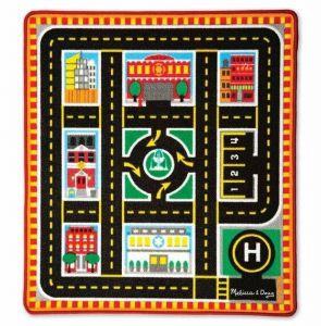 Игровой коврик с машинками Спасательные автомобили Melissa & Doug MD19406