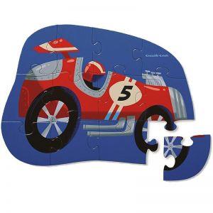 Гоночный автомобиль Crocodile Creek Mini Puzzle 12 элементов