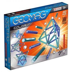 Магнитный конструктор Geomag Color 40 деталей