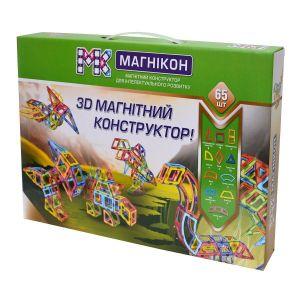 МАГНИКОН магнитный конструктор МК-65