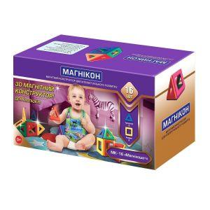 Магнитный конструктор для малышей Магникон Магникоша MK-16