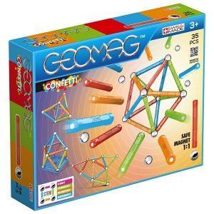 Магнитный конструктор Geomag Confetti 35 деталей