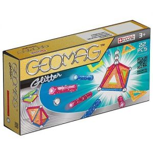 Магнитный конструктор Geomag Color GLITTER 22 детали