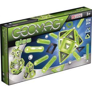 Магнитный конструктор Geomag Glow 104 детали