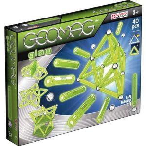 Магнитный конструктор Geomag Glow 40 деталей