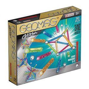 Магнитный конструктор Geomag Color GLITTER 30 деталей