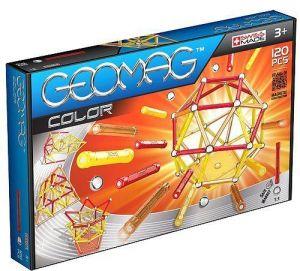 Магнитный конструктор Geomag Color 120 деталей