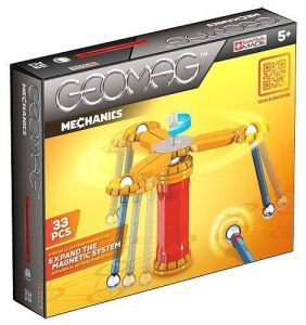 Geomag Магнитный конструктор Mechanics 33 детали