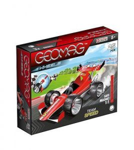 Магнитный конструктор Geomag WHEELS Speed 25 деталей