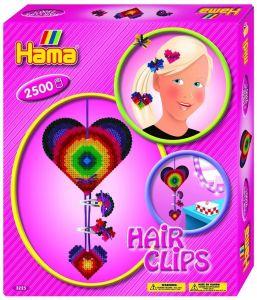 Термомозаика HAMA Набор - Заколки для волос, Midi 5+