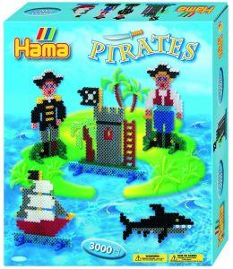HAMA Большой набор - Пираты, Midi 5+, термомозаика