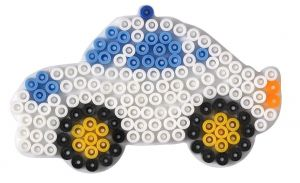 HAMA Поле для Midi, машинка, Midi 5+, термомозаика