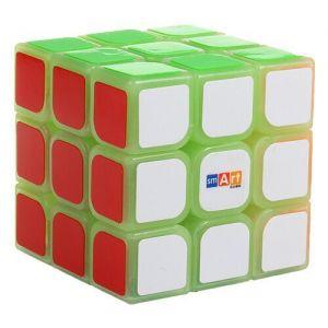 Кубик Рубика Smart Cube 3x3 Светящийся в темноте  3х3