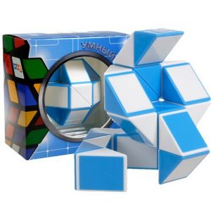 Змейка Рубика голубая Smart Cube BLUE